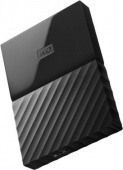 Внешний жесткий диск WESTERN DIGITAL My Passport 1Tb Black (WDBBEX0010BBK-EEUE)