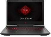 "Ноутбук HP Omen 17-an008ur (Intel Core i7-7700HQ 2.8GHz/17.3""/1920х1080/8Gb/1Tb/NVIDIA GeForce GTX 1050 Ti/DVD-RW/Wi-Fi/Bluetooth/Win 10)"